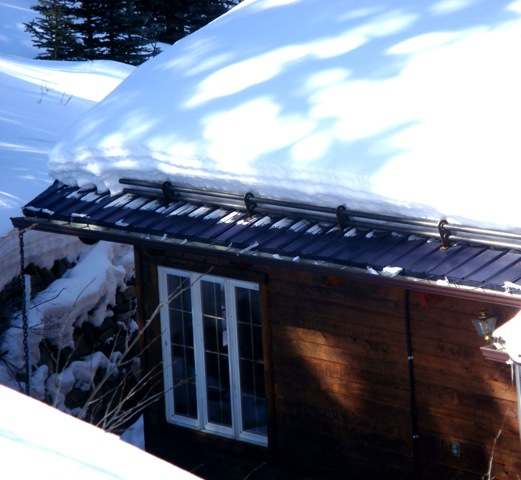 Heated Roof Systems Ice Amp Snow Melting System Solve